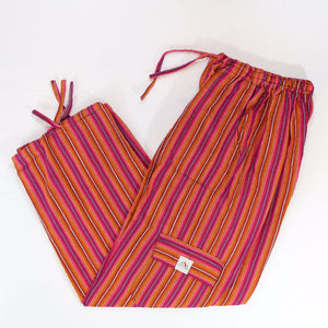(Large) Pinkish Orangey Lounge Pants 0047