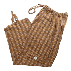 (XL) Brown with Brownish Whiteish Lounge Pants 0135