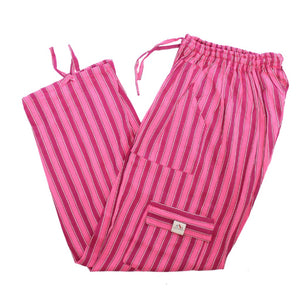 (XL) Pinkish Pink with some White Lounge Pants 0153