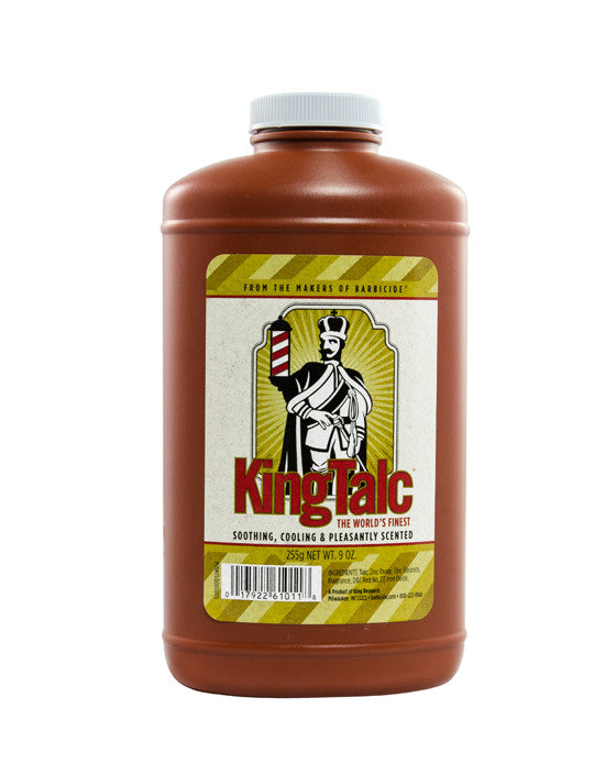 Barbicide King Scented Talc Powder - 9 Ounce Bottle