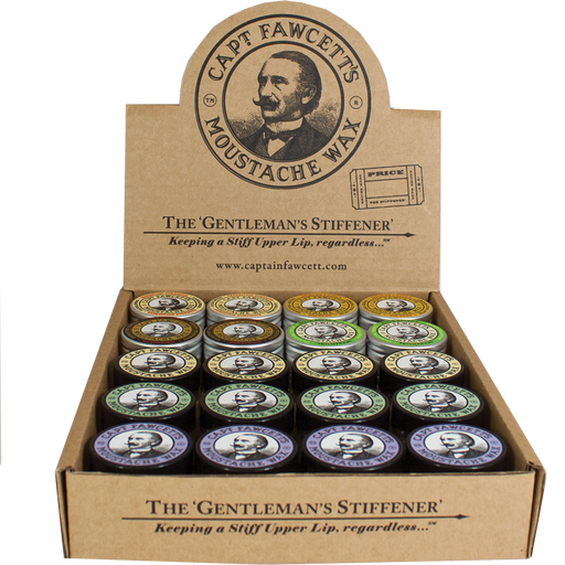 Captain Fawcett's Moustache Wax Bundle