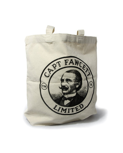 Captain Fawcett's Hand-Crafted Tote Bag (Cotton)