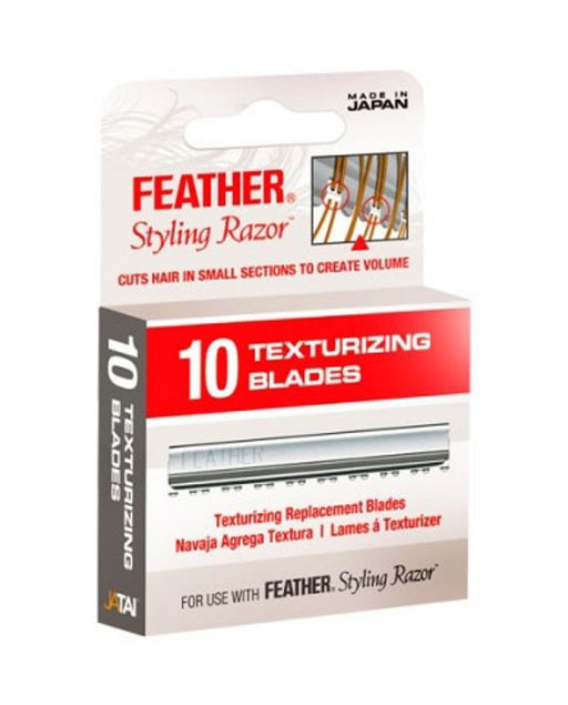 Feather Texturizing Blades (10 blade dispenser)