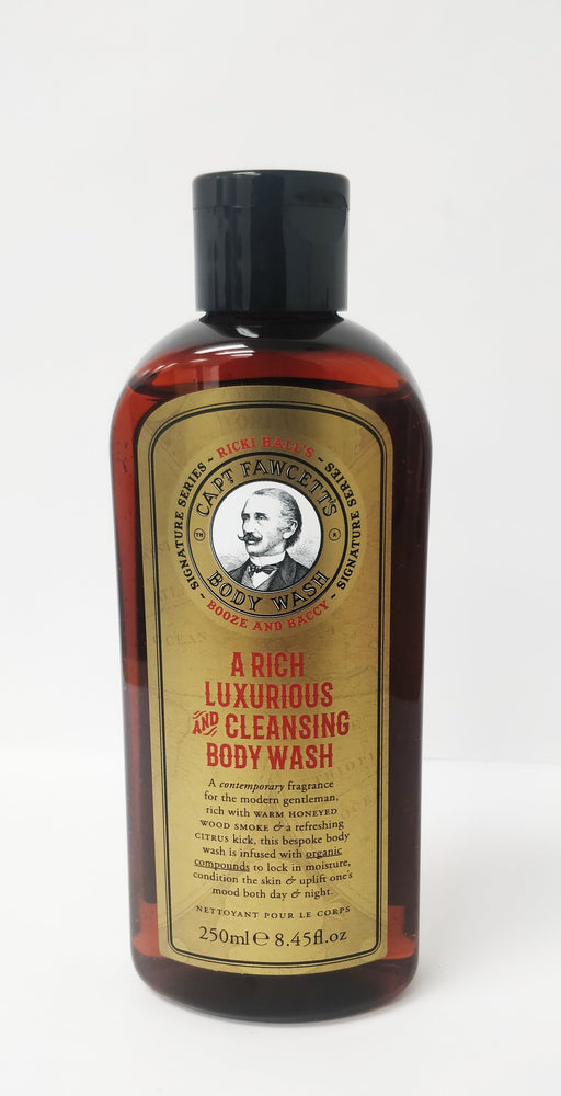 CPF-441765 Captain Fawcett's Ricki Hall's Booze and Baccy Body Wash (250ml/8.45oz)
