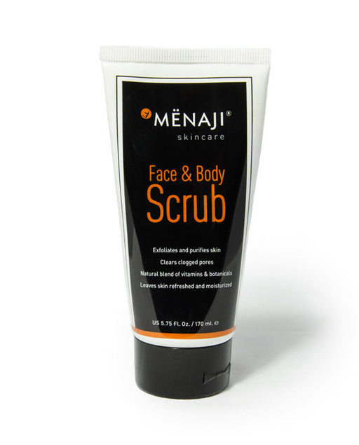 Menaji Skincare Face & Body Scrub - 5.75 Fl. Oz. / 170 ml