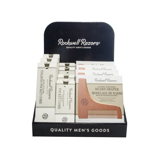 Rockwell Grooming Display Bundle