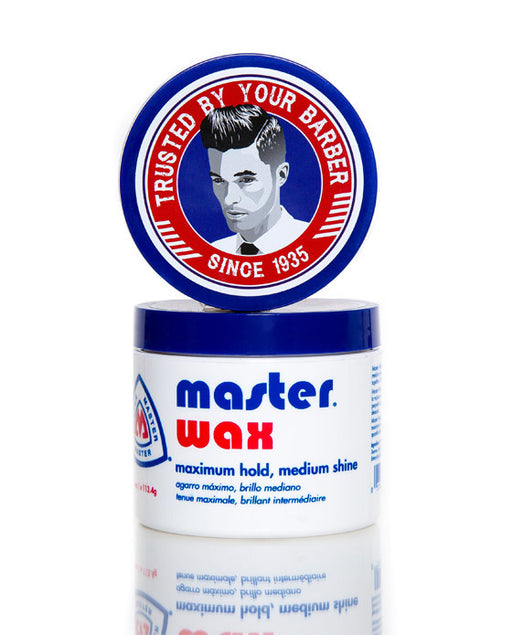 Master Well Comb Black Mustache Wax (Medium Shine)