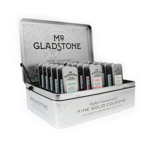 Mr. Gladstone Solid Cologne Full Retail Display for Sport Clips