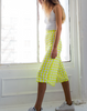 Kamilia Electric Sunshine Culotte On Model