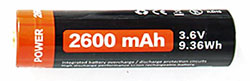 Rechargeable 18650 Lithium Ion Battery
