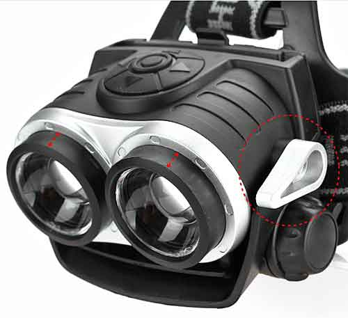 The Best Headlamp Available.  Two Independently Controlled CREE XML-T6 LEDs, Lights both Close and Far at the Same Time. Weather Resistant Housing. As Low As $23.95 per Headlamp. FREE Shipping!