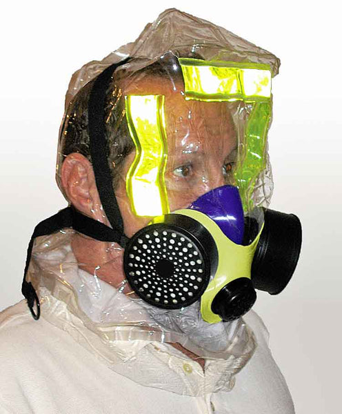 iEvac the Only American Certified Smoke/Fire and CBRN Escape Hood.