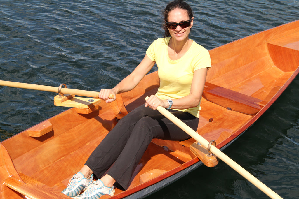 Fixed Seat Rowing Geometry