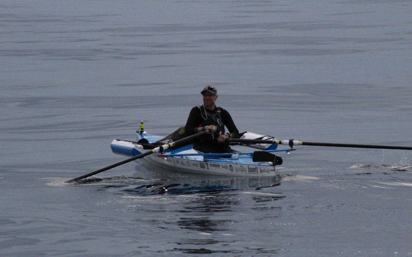 Jacob Beckley Rows Non-Stop Across Lake Michigan
