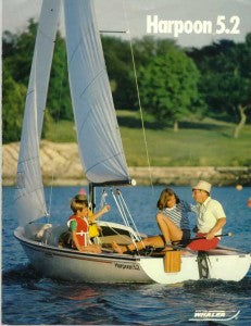 Bunny Whaler Dinghy. This 17' dinghy will be crewed by two.