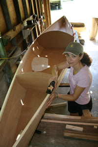 building Angus Expedition Rowboat