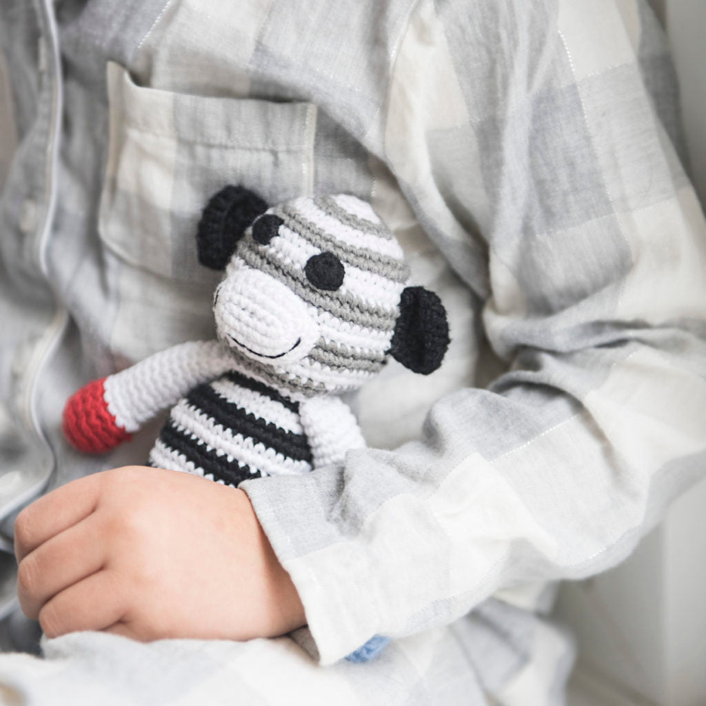 Why babies love black and white toys