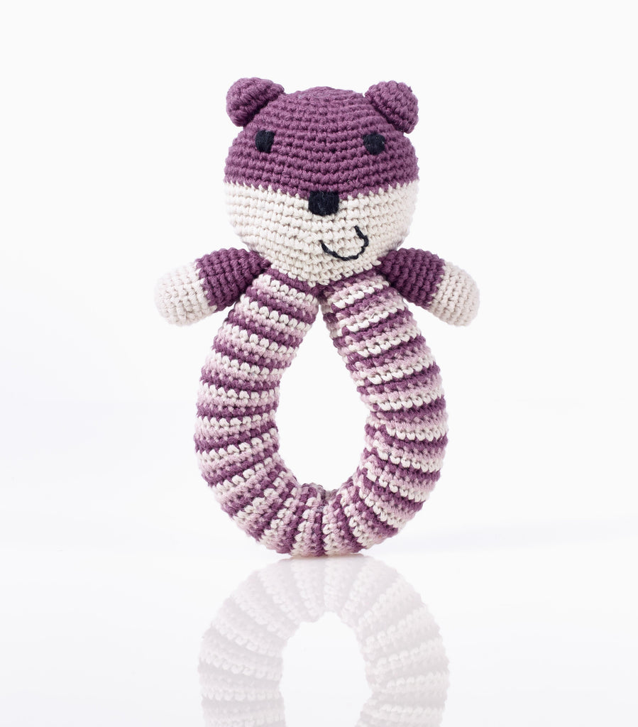 Brigitte Bear Ring Rattle