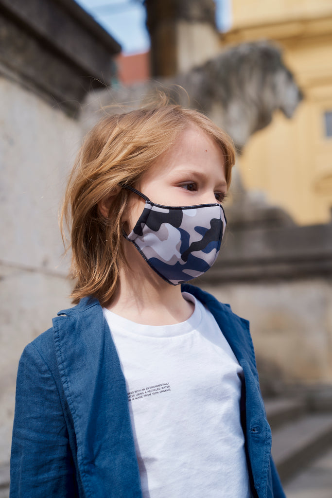 Vikyrader Reversible face mask kids
