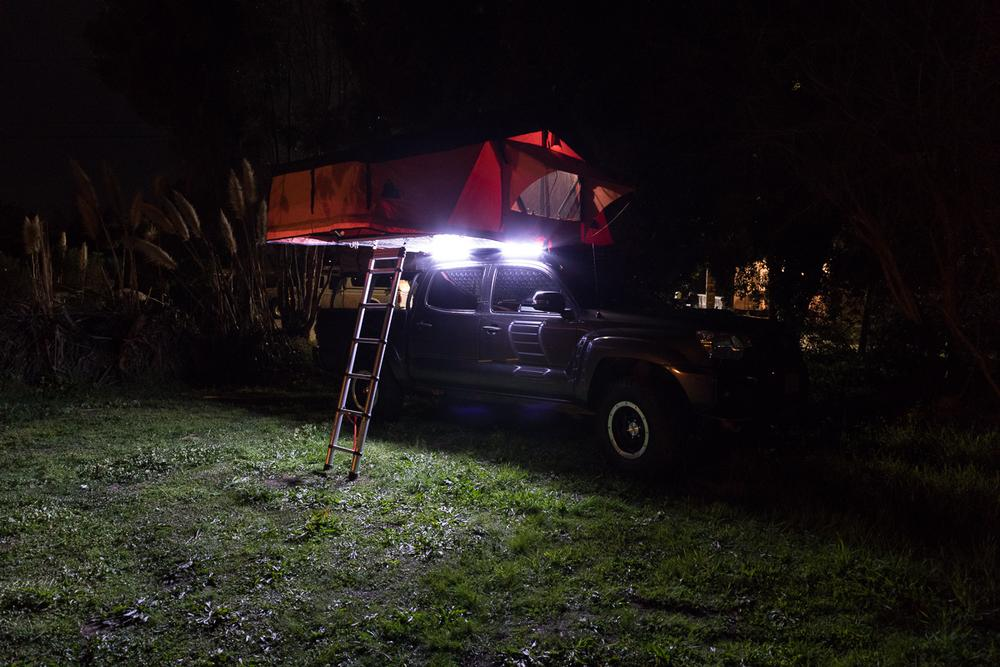 2 BAR ORANGE/WHITE LED LIGHT KIT