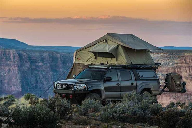 23Zero Walkabout 72 (BYRON) 4  Person Rooftop Tent FREE SHIPPING