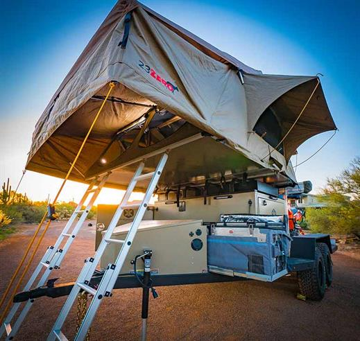 23Zero Walkabout 87 (Sydney) 5 person Roof Top Tent FREE SHIPPING