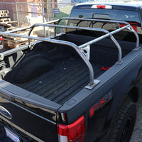 TUFF STUFF®60 Inch Rooftop Tent Truck Bed Rack Adjustable Mild Steel Raw