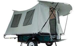 The Jumping Jack Jump Up Tent Trailer