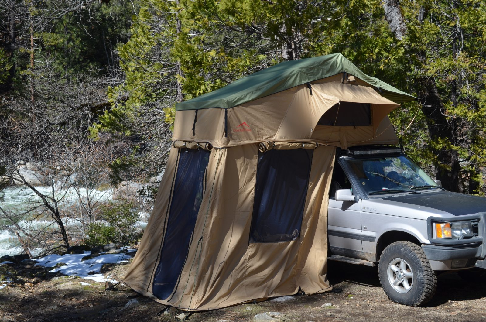 Overland Pro's Mojave Explorer 1400 (2-3 Person) Rooftop Tent