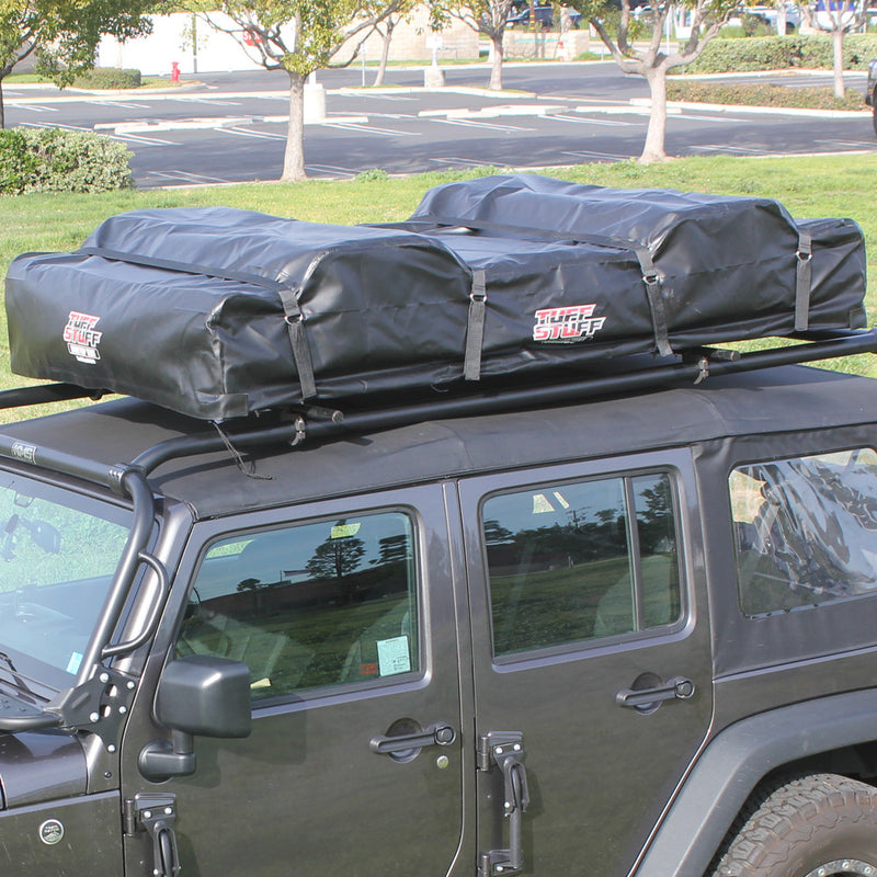 "TUFF STUFF® Elite"" Overland Rooftop Tent, Driving Cover, Black"