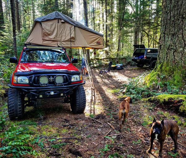 Tuff Stuff Overland Ranger 3 Person Rooftop Tent & Annex Room