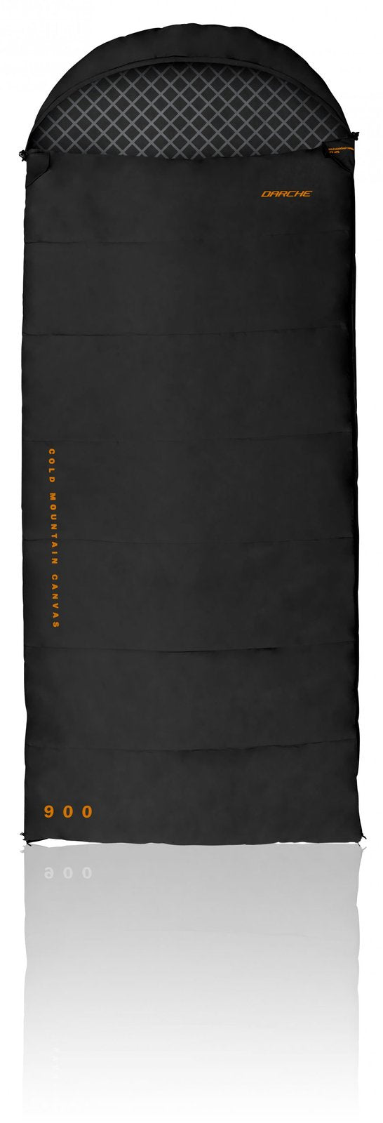 SLEEPING BAG 23°F(-5°C) DARCHE MOUNTAIN CANVAS 900 WITH DUAL ZIP