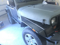 TUFF STUFF®Jeep TJ Rock Sliders w/ Step 97-06 Wrangler TJ