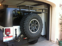 TUFF STUFF®Tire Carrier Mounted Storage & Cooler Rack System for 2 x 2 Inch Carriers