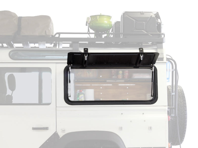 Land Rover Defender Gullwing Window / Aluminium - by Front Runner