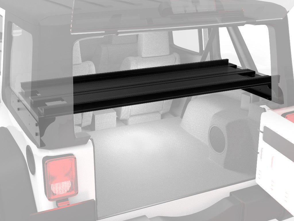Jeep Wrangler JKU 4-Door Cargo Storage Interior Rack - by Front Runner