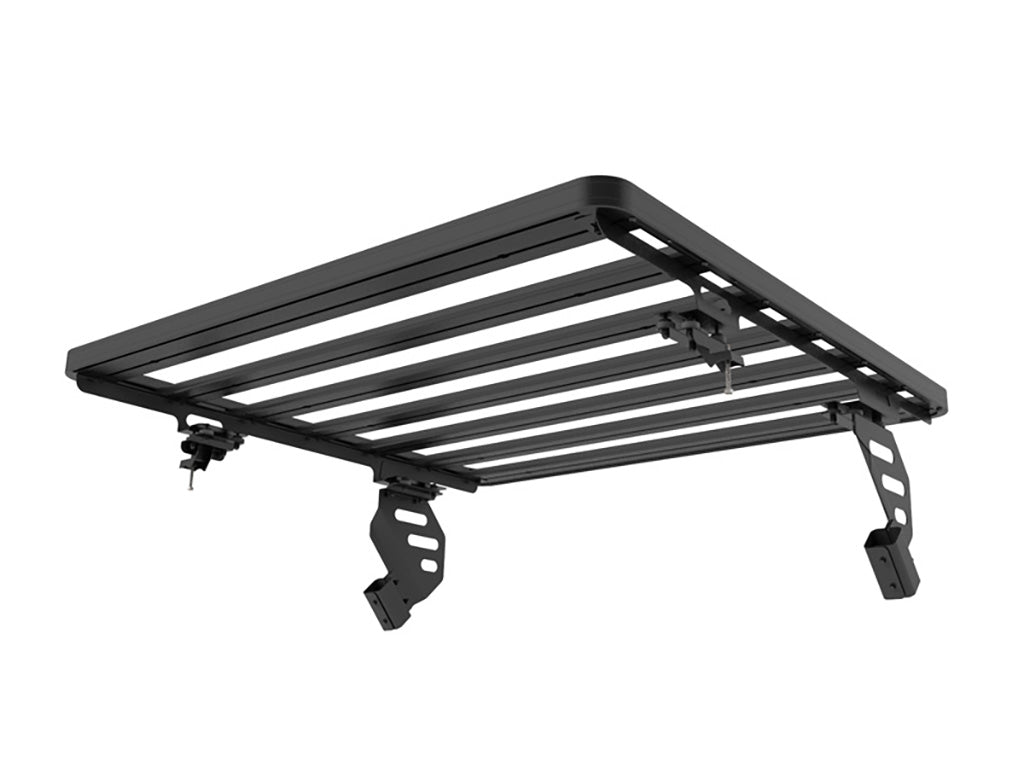 Jeep Wrangler JKU 4 Door (2007-Current) Slimline II Extreme 1/2 Roof Rack Kit - by Front Runner