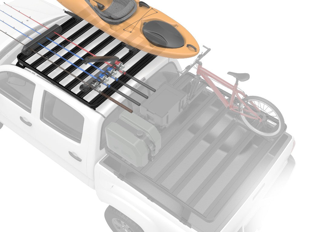 Toyota Hilux Revo DC (2016-Current) Slimline II Roof Rack Kit