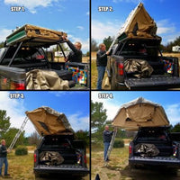 Tuff Stuff Overland Ranger 3 Person Rooftop Tent & FREE Annex Room & Awning - FREE SHIPPING