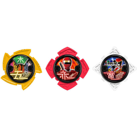 Power Rangers Ninja Steel - Ninja Power Star Pack, 43762