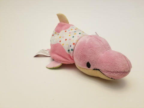 "FlipZee 5"" Pocket Size Plush Figure -  Watermelon Walrus To Sprinkle Donut Dolphin"