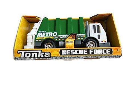 Tonka Lights & Sound Rescue Force - Metro Sanitation Department Garbage Truck by Tonka
