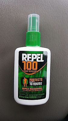 Repel 94108 100 Insect Repellent Pump Spray, 98.11-Percent DEET, 4-Ounce