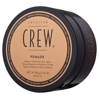 AMERICAN CREW POMADE-  3oz.85g Medium Hold with High Shine For Men 3oz Gel Cream