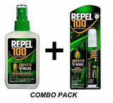 Repel 100 Insect Mosquito Repellent COMBO PACK Sprays 98% DEET 94108 & 94098