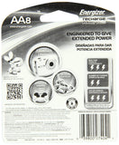 AA8 AA Energizer Universal Rechargeable NiMH Batteries EXP 2021 (8/pack)