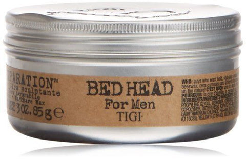 TIGI Bed Head B for Men Matte Separation Workable Wax 3oz, 3 Ounce