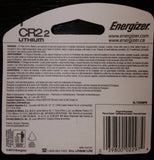 (4) Energizer CR2 Photo  Lithium Batteries (2-Pack x2 =4) EXP 2026