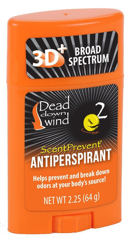 Dead Down Wind Scent Prevent Antiperspirant, 2.25 oz, Scent Control 1230N