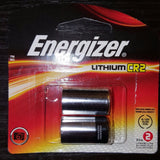 (4) Energizer CR2 Photo Batteries, 800mAh 3V Lithium EL1CR2BP2 (2/Pack x2 =4)